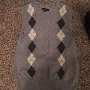 Club Room Sweater Vest. Worn once. Size Medium